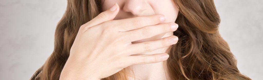 As causas do mau hálito