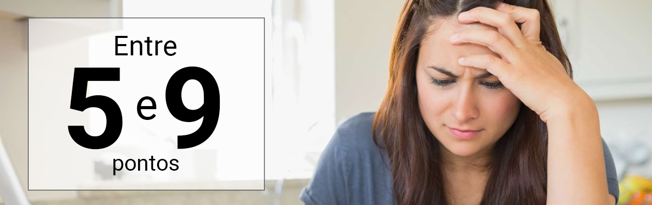 Sintomas de Ansiedade Leve
